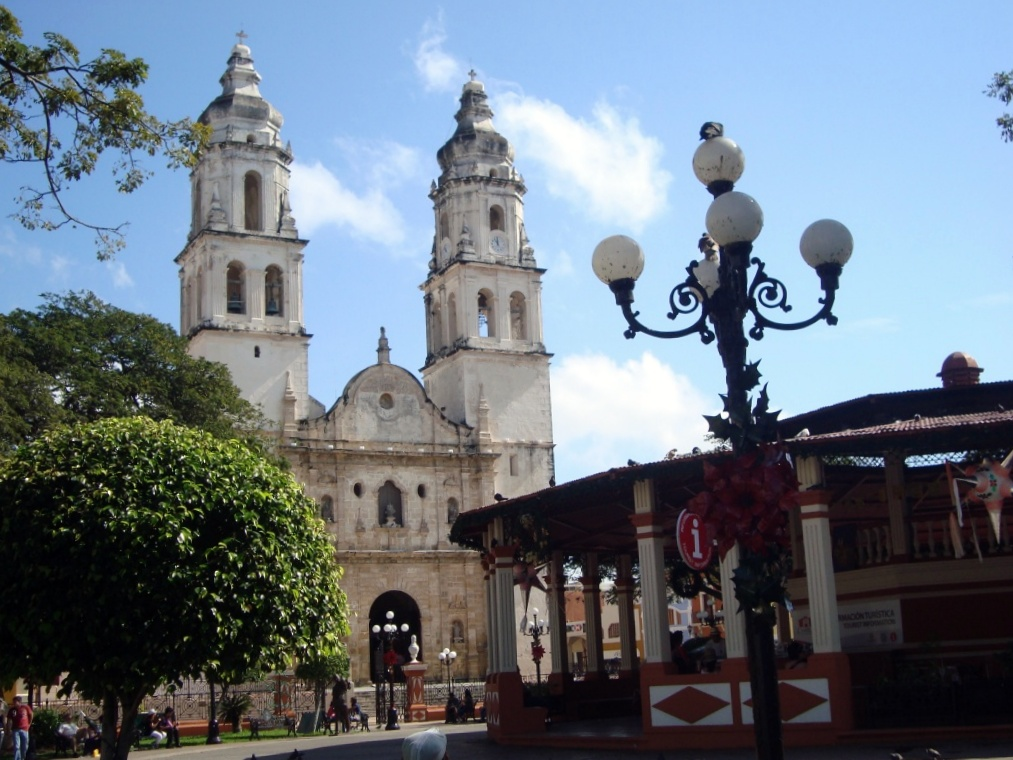 our first colonial city in mexico campeche anitas